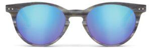 Monkeyglasses Berlin 01S Grey Horn - Solbrille Blå spejl