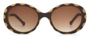 Monkeyglasses Betty 33S Brun - Solbrille Brun gradueret