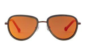 Monkeyglasses Energy 21S Sun Copper Mirror - Solbrille Gul spejl