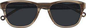 Monkeyglasses Jacky 07S Klar brun / horn - Solbrille Brun