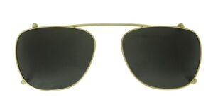 Monkeyglasses Jacky - Clip-on Gold  - Solbrille Grøn