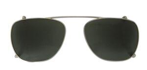 Monkeyglasses Jacky - Clip-on Silver  - Solbrille Grøn