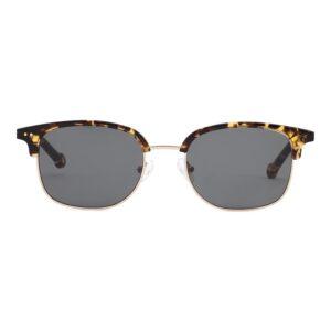 Monkeyglasses Nino 104S Turtle/Shiny gold - Solbrille Grå